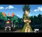 Beyblade Metal Fusion Episode 15  The Mysterious Hyoma Part 1/2 English Version