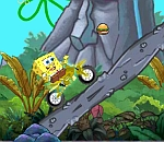 Спонджбоб байкър  - Spongebob Xtreme Bike