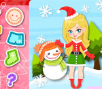 Girls Go Christmas Dress Up